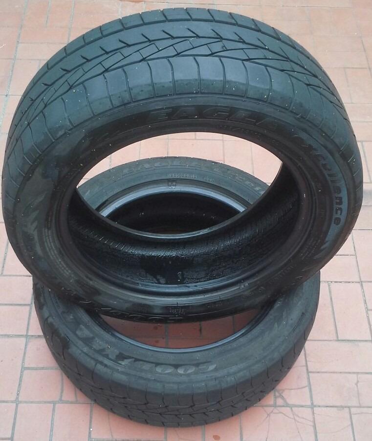 pneus goodyear meia vida