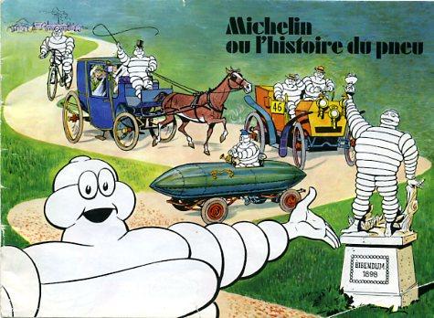 pneus michelin histoire