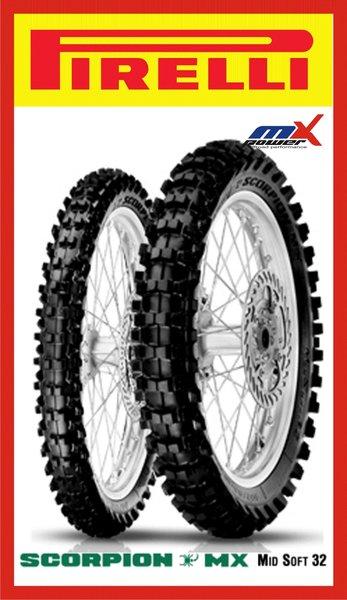 pneus pirelli motocross